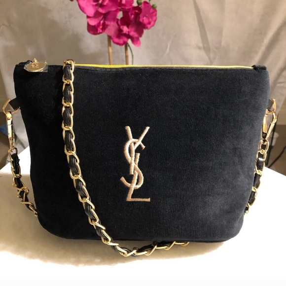 🌟YVES SAINT LAURENT Makeup bag  messenger🌟 cf901d67e2b6d
